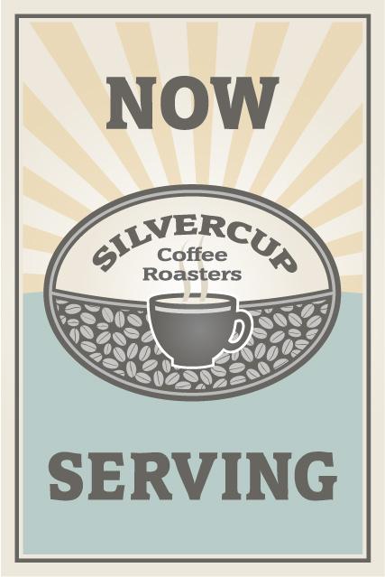 Silvercup Coffee Roasters sign